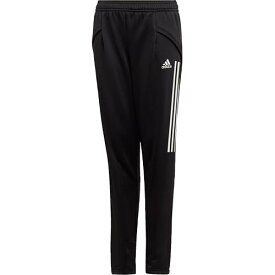 アディダス adidas ジュニア サッカー トレーニングウェア コンディボ 20 トラックパンツ Condivo 20 Track Pants ブラック/ホワイト FYY91 EA2486