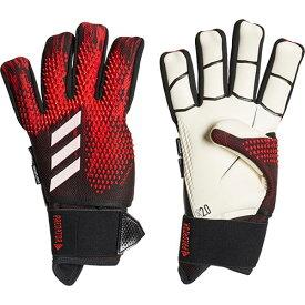 アディダス adidas メンズ サッカー キーパーグローブ プレデター GL PRO ULT ブラック/アクティブレッド GJM66 FH7290