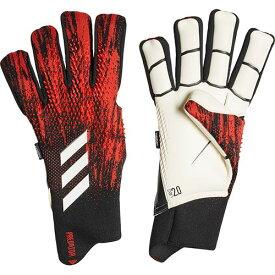 アディダス adidas メンズ サッカー キーパーグローブ プレデター GL PRO フィンガーセーブ ブラック/アクティブレッド GJM68 FH7292