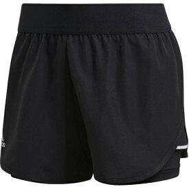 アディダス adidas レディース テニスウェア クラブショーツ CLUB SHORTS ブラック/マットシルバー/ホワイト FRO16 FK6999