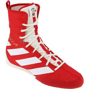 アディダス adidas メンズ ボクシングシューズ BOX HOG3 ジャパンレッド/オフホワイト/ゴールドメタリック HJ068 EG5173