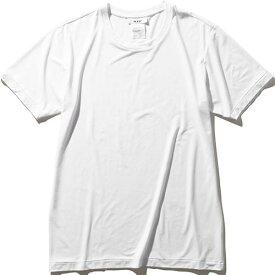 エムエックスピー MXP メンズ ファインドライ ショートスリーブクルー SHORT SLEEVE CREW ホワイト MX10101 W