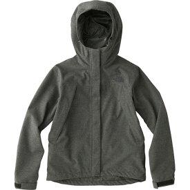 ノースフェイス THE NORTH FACE レディース ノベルティスクープジャケット Novelty Scoop Jacket ミックスチャコール NPW61645 ZC