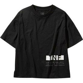 ノースフェイス THE NORTH FACE レディース ボックスロゴティー BOX LOGO TEE ブラック NTW31987 K