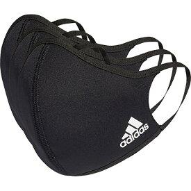 アディダス adidas メンズ レディース フェイスカバー 3枚組 Facecover Adult M/L ブラック KOH81 H08837