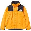 ノースフェイス THE NORTH FACE メンズ マウンテンレインテックスジャケット Mountain Raintex Jacket サミットゴール…