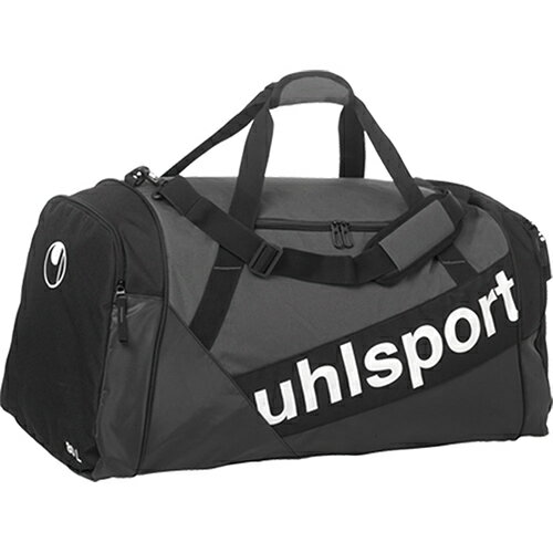 ウールシュポルト uhlsport プログレッシブ ライン スポーツバッグ M ブラック/アンスラ 1004235 01