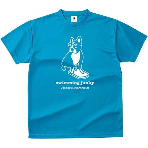 ジャンキー Junky スイミングジャンキー Tシャツ ビート板+1 48/ターコイズ SW15001 48