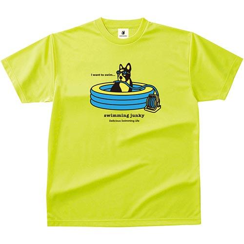 ジャンキー Junky スイミングジャンキー Tシャツ 水遊び+1 78/蛍光イエロー SW17002 78