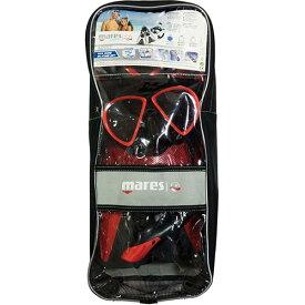 マレス mares マスク シュノーケル フィン 3点セット X-ONE MAREA SET エックスワン マレア セット 480125 TBRDK レッド