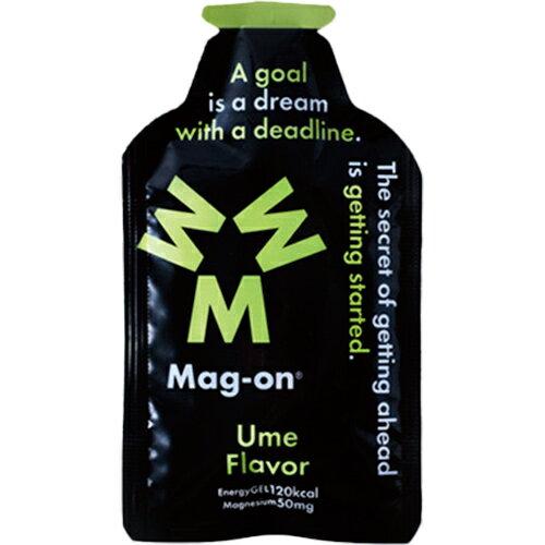マグオン Mag-on マグネシウムチャージサプリメント エナジージェル 梅味 12個入り TW210119