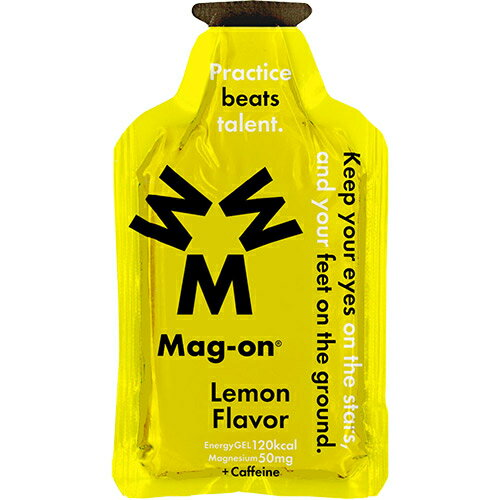 マグオン Mag-on マグネシウムチャージサプリメント エナジージェル レモン味 12個入り TW210179