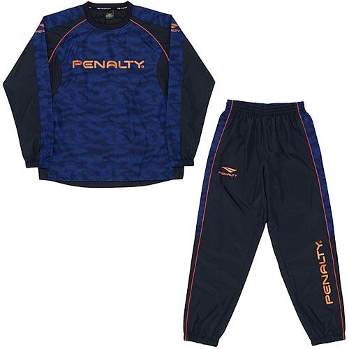 【送料無料】ペナルティ(PENALTY) ジュニア ピステスーツ ブルー WNS PO7517J 80 【サッカー フットサル トレーニングウェア ウインドブレーカー 上下セット】