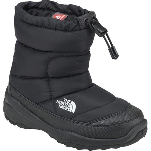 【送料無料】ノースフェイス(THE NORTH FACE) ヌプシブーティーウォータープルーフ (キッズ) K/TNFブラック NFJ51780 【ウィンターブーツ スノーシューズ 長靴 防水防寒】