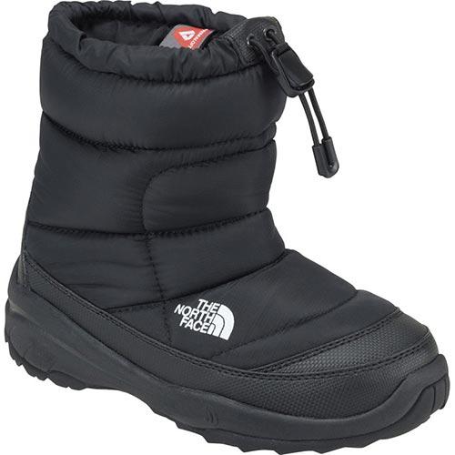 【送料無料】ノースフェイス(THE NORTH FACE) ヌプシブーティー IV (キッズ) KK/TNFブラック×ブラック NFJ51781 【ウィンターブーツ スノーシューズ 長靴 防寒】