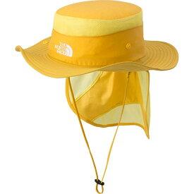 ノースフェイス THE NORTH FACE キッズサンシールドハット Kid's Sunshield Hat GR/ゴールデンロッド NNJ01810 男児 女児