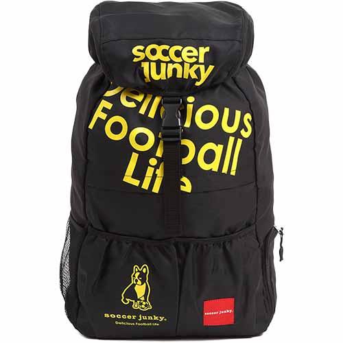 ジャンキー Junky サッカージャンキー 旅のお供+1 バックパック ブラック2 F SJ15080
