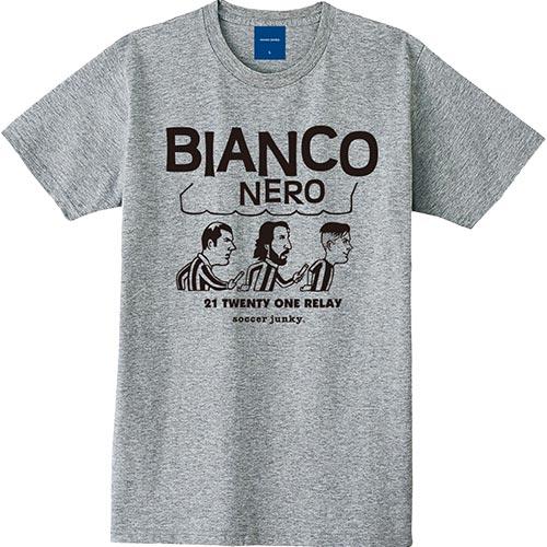 ジャンキー Junky サッカージャンキー×JERRY BIANCO NERO 半袖T ヘザーグレー SJ18109 メンズ レディース
