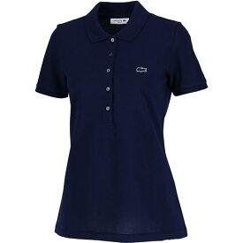 ラコステ ポロシャツ レディース LACOSTE 半袖 166 ネイビー PF7845L