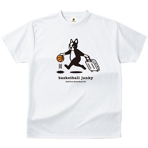 ジャンキー Junky バスケットボールジャンキー トラベリング ドライT ホワイト BSK18001 メンズ レディース