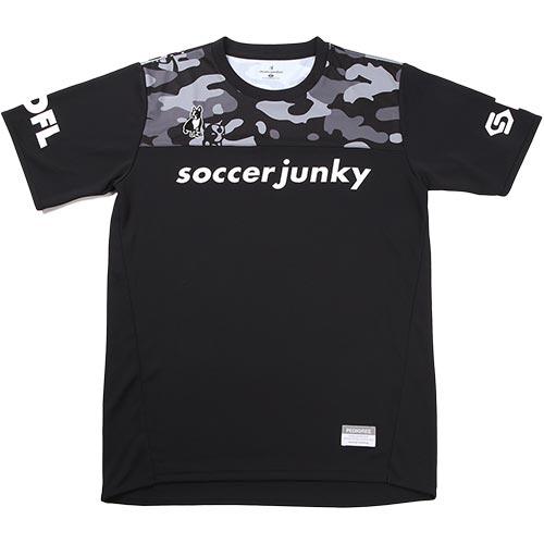 ジャンキー Junky サッカージャンキー サカぞん プラシャツ ブラック SJ18022 メンズ レディース