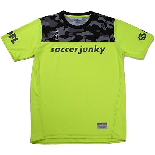 ジャンキー Junky サッカージャンキー サカぞん プラシャツ 蛍光イエロー SJ18022 メンズ レディース