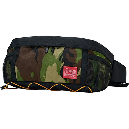 マンハッタンポーテージ Manhattan Portage ウエストポーチ フィクシーウエストバッグ Fixie Waist Bag バンジーシリーズ ブラック/ウッドランドカモ MP1106BUNGEE