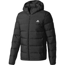 アディダス adidas メンズ ダウンジャケット HELIONIC HOODED JACKET DKQ89 BQ2001 ブラック