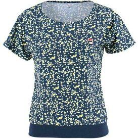 フィラ FILA レディース テニスウェア ゲームシャツ フィラネイビー VL1827 20