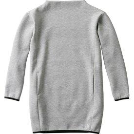 ノースフェイス THE NORTH FACE レディース 長袖 Tシャツ テックエアースウェットチュニック ミックスグレー NTW61886 Z