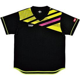 ティーエスピー TSP ジュニア 卓球ウェア ジョワイユシャツ ブラック 031427 0020