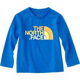 ノースフェイス THE NORTH FACE キッズ トップス ロングスリーブカラフルロゴティー L/S Colorful Logo Tee ターキッシュブルー NTJ31822 TH