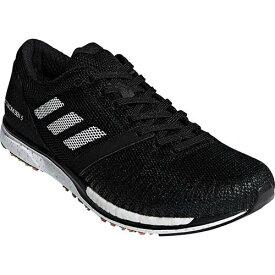 アディダス adidas メンズ レディース ランニングシューズ アディゼロ タクミ セン ブースト adiZERO takumi sen boost 5 ブラック/ホワイト/カーボン BAZ50 B37419