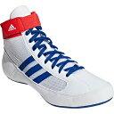 アディダス adidas メンズ レディース レスリングシューズ HVC WRESTLING SHOES ホワイト/カレッジロイヤル/アクティ…
