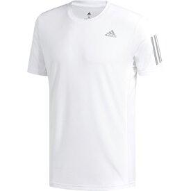 アディダス adidas メンズ ランニングウェア RESPONSE Tシャツ ホワイト/リフレクティブシルバー FWB26 DX1319