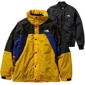 ノースフェイス THE NORTH FACE メンズ トリプルエックストリクライメイトジャケット XXX Triclimate Jacket ブラック×ブルー×イエロー NP21730 TY