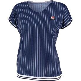 フィラ FILA レディース テニスウェア ゲームシャツ フィラネイビー VL1935 20
