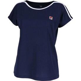 フィラ FILA レディース テニスウェア ゲームシャツ フィラネイビー VL1970 20