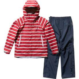 ヘリーハンセン HELLY HANSEN レディース スカンザヘリーレインスーツ Scandza Helly Rain Suit ボーダーレッド2 HOE11700 A1