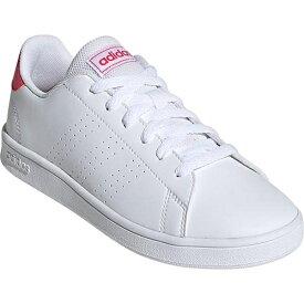 アディダス adidas ジュニア スニーカー アドヴァンコート ADVANCOURT K ホワイト/リアルピンク/ホワイト EPG24 EF0211 男の子 女の子 キッズ