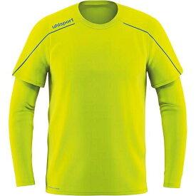 ウールシュポルト uhlsport ジュニア サッカー ストリーム 22 GKシャツ フローイエロー×レーダーブルー 1005623 08 キッズ
