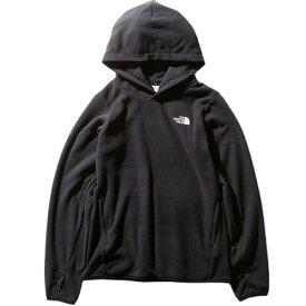 ノースフェイス THE NORTH FACE レディース マイクロフリースフーディ Micro Fleece Hoodie ブラック NLW71931 K