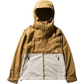 ノースフェイス THE NORTH FACE レディース コンパクトジャケット Compact Jacket ブリティッシュカーキ×ダブグレー NPW71830 BD