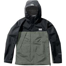 ヘリーハンセン HELLY HANSEN メンズ スカンザライトジャケット Scandza Light Jacket セージ×ブラックオーシャン HOE11903 SO
