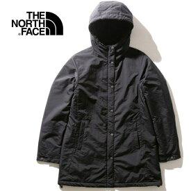 ノースフェイス THE NORTH FACE レディース コンパクトノマドコート Compact Nomad Coat ブラック NPW71935 K