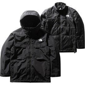 ノースフェイス THE NORTH FACE メンズ フォーバレルトリクライメイトジャケット Fourbarrel Triclimate Jacket ブラック NS61904 K