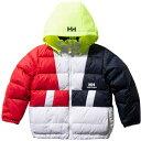 ヘリーハンセン HELLY HANSEN キッズ フォーミュラーダウンジャケット K Formula Down Jacket ホワイト HJ11951 W ジュニア