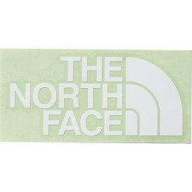 ノースフェイス THE NORTH FACE TNFカッティングステッカー TNF CUTTING STICKER ホワイト NN88106 W