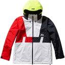 ヘリーハンセン HELLY HANSEN ジャケット メンズ フォーミュラーバーティカル Formula Vertical Jacket ホワイト HH11…