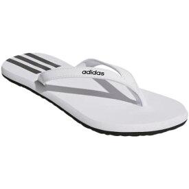 アディダス adidas メンズ レディース ビーチサンダル EASY FLP SANDAL フットウェアホワイト/コアブラック/コアブラック DBD72 EG2038